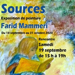 Exposition Farid Mammeri